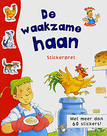 De waakzame haan Stickerboek