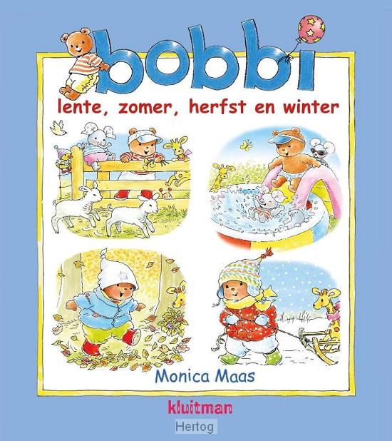 Kleurplaten Bobbi In De Herfst.Lente Zomer Herfst En Winter 9789020684285