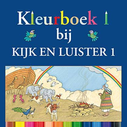 Kleurboek 1 bij Kijk en Luister 1