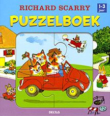 Richard Scarry Puzzelboek