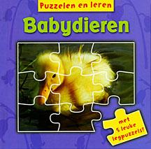 Babydieren - met 5 leuke legpuzzels