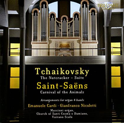 Tschaikovsky – Saint-Saëns – Arrangements for organ 4-hands