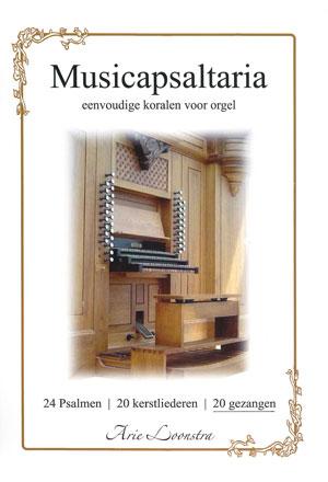 6843202820 liederen voor orgel in een eenvoudige zetting