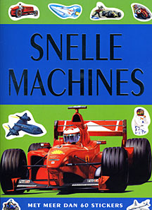 Snelle machines Stickerboek