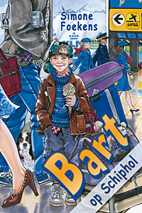 Bart op Schiphol
