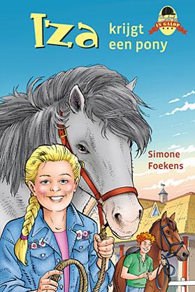 Iza krijgt een pony