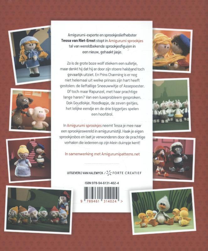 Amigurumi Schildkrote : Amigurumi sprookjes - 9789461314024