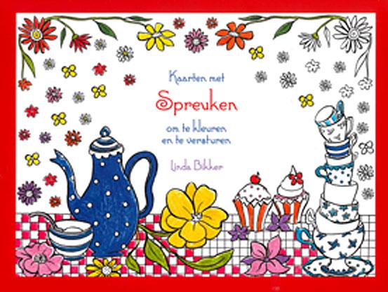 spreuken over kleuren Kaarten met Spreuken om te kleuren en te versturen   9789462785311 spreuken over kleuren