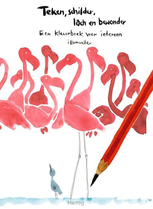 spreuken over kleuren Teken, schilder, lach en bewonder   9789492504111 spreuken over kleuren